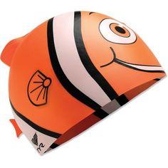 TYR Happy Fish Silicone Swim Cap - Kids'
