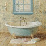 Victorian Bath I Posters por Danhui Nai