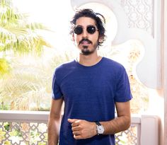 Dev Patel was spotted wearing the popular and trending Montblanc #sunglasses in Dubai   #fashion #eyewear