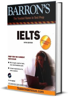 Barrons IELTS 5th Edition PDF and Audio Test Prep, Ielts, Audio, Pdf, Names, Student, This Or That Questions, Books, Libros