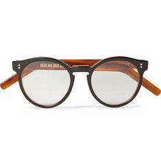 f76fd745745622 Cutler and Gross Round-Frame Acetate Optical Glasses Brillengestelle Für  Männer, Herrenbrille, Cutler