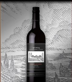 Wynn's Black Label Cabernet Sauvignon - the best red I've ever had with filet minion. Talk about igniting your taste buds.