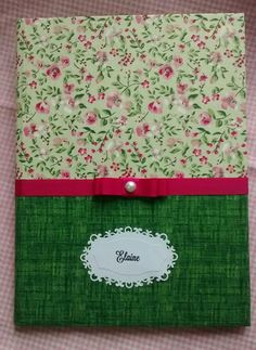 Notebooks, Journals, Cover, Handmade Notebook, Decorated Notebooks, Book, Cape Clothing, Scrappy Quilts, Ideas