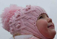 Вязание детских шапочек с ушками, для девочек, для мальчиков