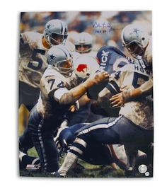 cceed4d6 Autographed Bob Lilly Dallas Cowboys 16x20 Photo Inscribed