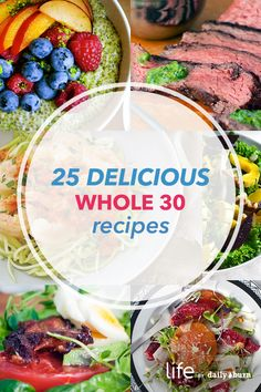 25 Whole 30 Recipes You'll Love