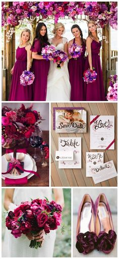 Berry and Jewel Tone Wedding Inspiration