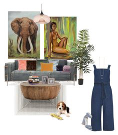 """daydreamin"" by bigbittypapi ❤ liked on Polyvore featuring art"