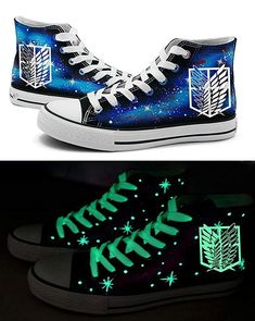 online shopping for Telacos Attack Titan Shingeki No Kyojin Wings Freedom  Cosplay Shoes Canvas Shoes Sneakers Luminous from top store. d9138bf7c353