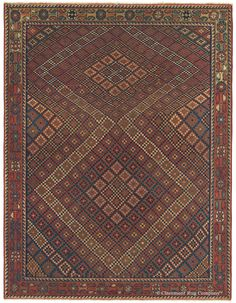 Antique Afshar Persian Tribal Rug - AFSHAR, Southeast Persian 4ft 0in x 5ft 2in Circa 1850