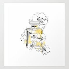 Blooming Love,inspiring by Chanel Art Print - Just made this mine!