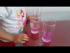 YAĞ SU DETERJAN DENEYİ – Montessori Etkinlikleri