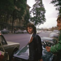 """ Jim Morrison in Amsterdam, 1968 """