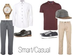 """""""Smart/Casual (Menswear)"""" by lauramaryjomccullough on Polyvore"""