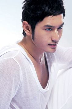 Chinese male actors, celebrities and stars    Huang Xiao Ming's photogallery @ AFSpot gallery
