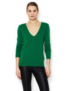 LANVIN - Wool Cashmere V-Neck Sweater
