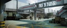 Concept art for The Edge of Tomorrow by Tim Browning and Kev Jenkins