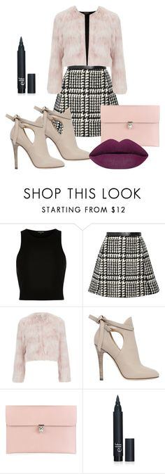 """Cool Girl"" by dzenita-219 on Polyvore featuring River Island, Jill Stuart, RED Valentino, Jimmy Choo, Alexander McQueen, women's clothing, women's fashion, women, female and woman"