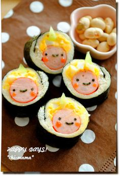 demon sushi roll