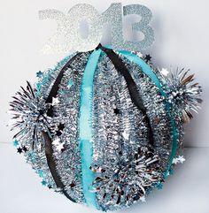 Un precioso decorado para la nochevieja / A lovely decoration for New Year's Eve