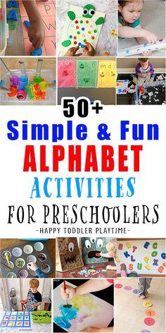 Educational Activities For Kids, Alphabet Activities, Craft Activities For Kids, Kindergarten Activities, Preschool Activities, Indoor Activities, Kids Crafts, Teaching The Alphabet, Teaching Kids