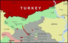 """By Ece Toksabay and Angus McDowall, Reuters, Oct 20 2016  Syria calls Turkish attacks """"blatant aggression""""    ISTANBUL/BEIRUT - Turkish air strikes pounded a group of Kurdish fighters allied to a U.S.-backed militia in northern Syria overnight,"""