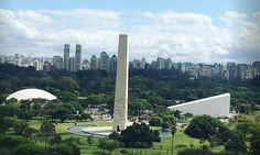 Obelisco e Parque do Ibirapuera.
