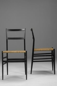 Gio Ponti Superleggera Chairs