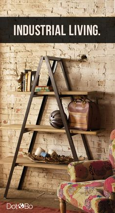 Modern Industrial Furniture & Décor | Up to 60% Off at dotandbo.com                                                                                                                                                                                 More