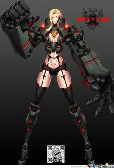 Anime version of Cherno Alpha.