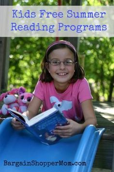 Great list of free summer reading programs. Lots of free prizes. Free  Summer 51749e8238c57