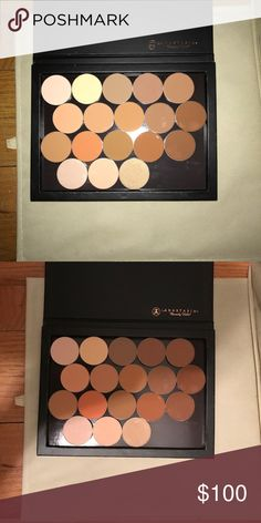 Anastasia Beverly Hills contour powder kit palette Contains colors from all 3 powder contour kits. Brand new never used. I used to work for the brand and I'm getting rid of all the stuff they sent me. Anastasia Beverly Hills Makeup