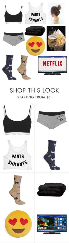 """""""Finally"""" by bertha19 ❤ liked on Polyvore featuring Calvin Klein Jeans, HOT SOX, Olivier Desforges and Throwboy"""
