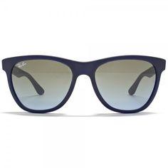 Ray-Ban Wayfarer Round Matte Navy Blue Azure | Red Hot Sunglasses ❤ liked on Polyvore featuring accessories, eyewear, sunglasses, glasses, lunette, oculos, wayfarer sunglasses, red round sunglasses, red wayfarer sunglasses and navy blue sunglasses