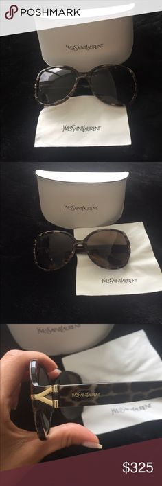YSL Sunglasses  Limited Edition YSL Sunglasses. New in Case. Purchased in Hong Kong's YSL Store. These are amazing on!  Yves Saint Laurent Accessories Sunglasses