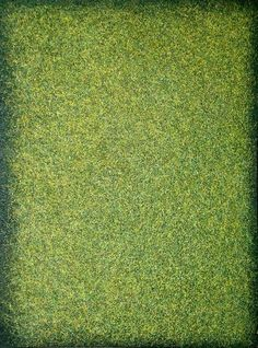 "Saatchi Art Artist Heidi Thompson; Painting, ""Warm Green Field - Monochrome"" #art"