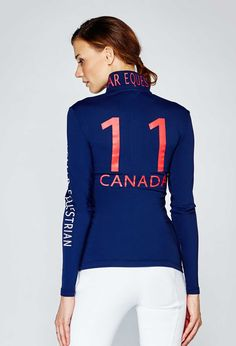 Noel Asmar Equestrian 1/4 Zip Continental Sun-Shirt, Canada