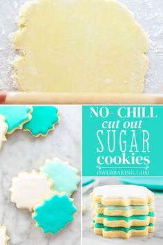 Bakery Sugar Cookies Recipe, Shaped Cookies Recipe, Sugar Cookie Recipe With Royal Icing, Roll Out Sugar Cookies, Homemade Sugar Cookies, No Chill Cut Out Sugar Cookie Recipe, Recipe For Decorated Sugar Cookies, Professional Sugar Cookie Recipe, Best Royal Icing Recipe For Cookies