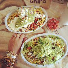 Chipotle burrito bowls. OMG