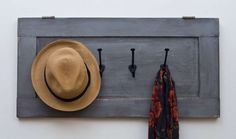 HAT RACK IDEAS - We are always making hard efforts to make you people meet with cheap and cost free DIY plans and projects which are also easy so that you c Cabinet Doors, Hat Rack, Old Cabinet Doors, Diy Cupboards, Cupboard, Diy Door, Old Door, Diy Hat Rack, Cupboard Doors