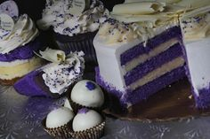 Susan Lozier Robert, owner of Frederick's Pastries, has created an assortment of Purple Velvet treats. Description from bostonglobe.com. I searched for this on bing.com/images