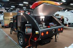 teardrop camper interiors | ... teardrop trailer debuts at RVIA trade show | The Small Trailer