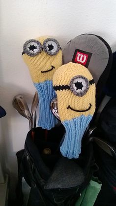 Ravelry: Minion Golf Club Cover pattern by Sundae's Shop going to try to make this for my boyfriend!!!