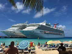 Partner Agent Judy Arndt Travels On Carnival Splendor- Grand Turks Beach