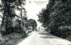 1913 terminus du bois de la vecquée (beau séjour) en 1914 placé double voie