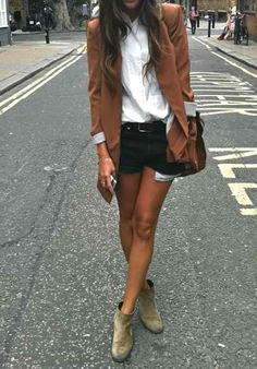 Denim & Blazer