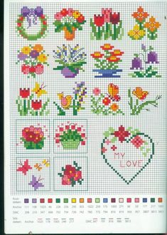 Biscornu Cross Stitch, Tiny Cross Stitch, Cross Stitch Needles, Cross Stitch Cards, Cross Stitch Borders, Cross Stitch Designs, Cross Stitching, Cross Stitch Embroidery, Embroidery Patterns