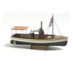 """Billing Boats 1:12 Scale """"African Queen"""" Model Construction Kit: Amazon.co.uk: Toys & Games"""