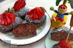 Baking, Cakes & Frostings, Strawberry recipes, strawberry poke cake, strawberry cupcake recipe, chocolate cupcake recipe, easy cupcake recipes, poke cake, frosting recipe for cupcakes, strawberry cupcakes,