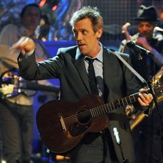 Brains, talent, humor ... Hugh Laurie has it all.